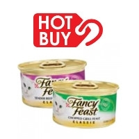 Fancy Feast Canned Cat Food now 16 for $8.96