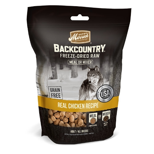 Merrick Backcountry Freeze Dried Meal Mixer - Real Chicken Recipe