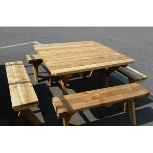 Stanley Furniture Picnic Tables With Benches
