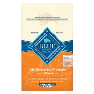 Blue Buffalo Life Protection Formula Large Breed Dog Food Chicken & Brown Rice 30 Pound