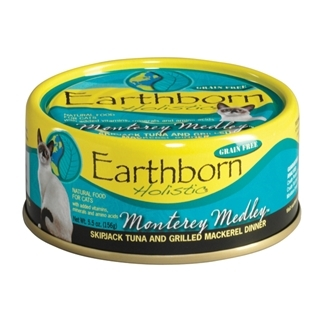 Earthborn Holistic Monterey Medley Canned Cat Food 5.5 Ounce