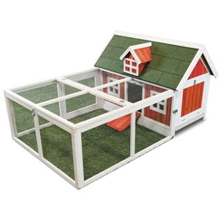 Ware Little Red Hen Chicken Coop