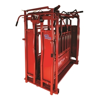Tarter Cattlemaster Series 6 Heavy Duty Squeeze Chute with Automatic Headgate