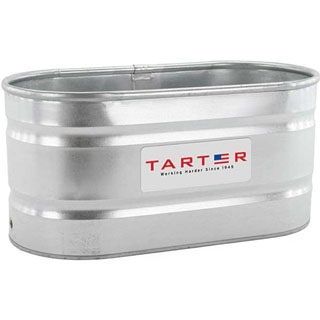 Tarter Galvanized Stock Tank 100 Gallon