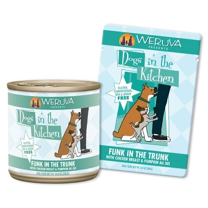 Weruva Dogs in the Kitchen Funk in the Trunk 2.8 Ounce Pouch