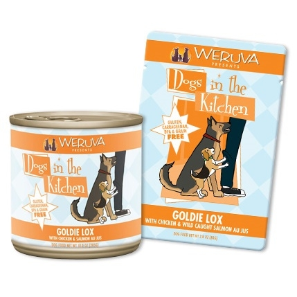 Weruva Dogs in the Kitchen Goldie Lox 2.8 Ounce