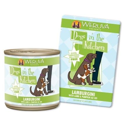 Weruva Dogs in the Kitchen Lamburgini 2.8 Ounce Pouch