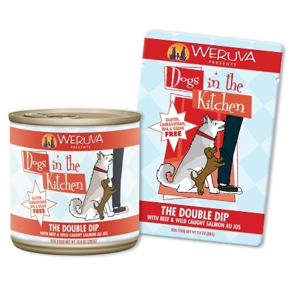 Weruva Dogs in the Kitchen The Double Dip 2.8 Ounce Pouch