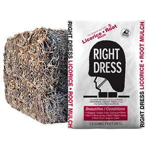 Right Dress Licorice Root Mulch- 5 Bags for $24.99