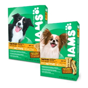 Iams Dog Biscuits 24 Ounce - 20lb Boxes