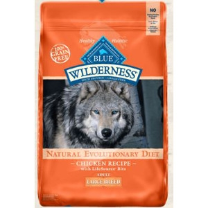 BLUE Wilderness® Chicken Recipe For Large Breed Adult