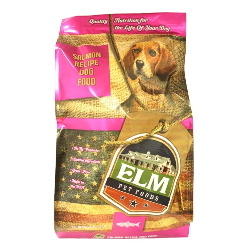 Elm Pet Food Salmon & Rice Dog Food 28 lb.