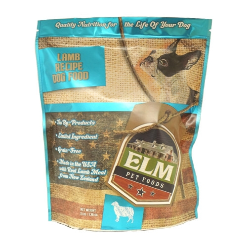 Elm Pet Food Lamb & Rice Dog Food 3 lb.