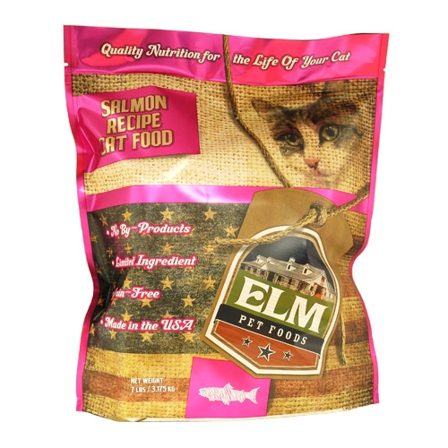 Elm Pet Food Salmon & Rice Cat Food 7 lb.