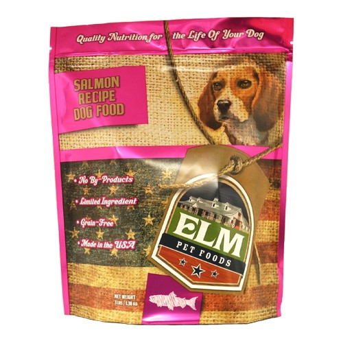 Elm Pet Food Salmon Dog Food 3 lb.