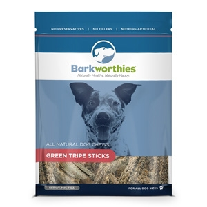 Green Tripe Sticks Dog Treats, 7 oz