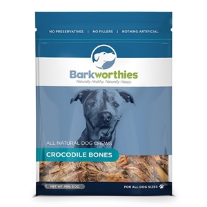 Crocodile Bones Dog Treats, 5 oz.