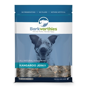 Kangaroo Jerky Dog Treats, 4 oz.