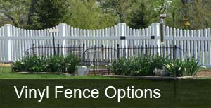 vinyl fence options