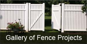 gallery of fence projects