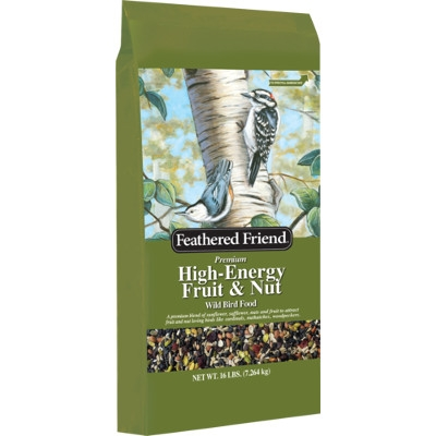 Feathered Friend High Engery Fruit & Nut Blend Bird Seed, 16 lbs.