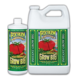 FoxFarm Grow Big Plant Food Concentrate, 1 Pint